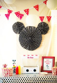 Mickey and Minnie Mouse Party...