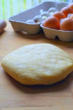 Pâte sablée sucrée de Pierre Hermé le meilleur fond de tarte !