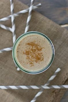 Banana Chai Breakfast Shake - the perfect start for your busy day.