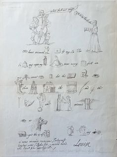 A hieroglyphic song from Princess Louise, daughter of the King of Bohemia, to Lord Goring. Engraved by C.J. Smith, London, 1836 (C) Nancy Rosin collection