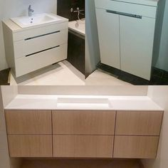 Pictures from our last two bathrooms # Fine # washbasins made by # furniture carpenter ? Bathroom Inspo, Woodworking, Duravit, Instagram Posts, Furniture, Home, Blog, Design, House