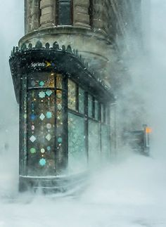 Flatiron Building, Manhattan, NYC – Michele Palazzo braved a blizzard caused by 2016's Winter Storm Jonas to take this image of New York's famous Flatiron Building. It took the top prize in the Cities & Architecture single image category.