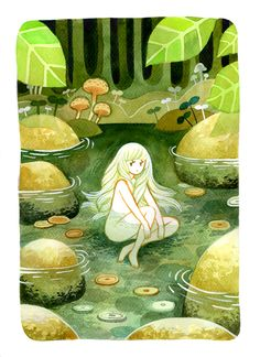 Fuck Yeah Illustrative Art! • heikala: Some watercolour paintings for an...