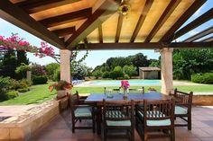 www.rentavillamallorca.com #chill out #terrace #outdoor #holidayrentals