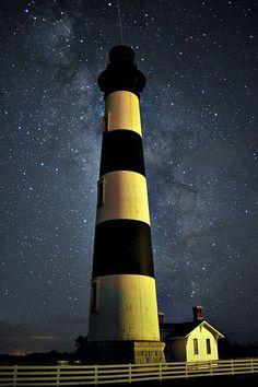 Bodie Island Lighthouse - Bodie Island, North Carolina, USA.
