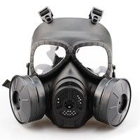 Cheap paintball accessories, Buy Quality paintball mask accessories directly from China accessories paintball Suppliers: WoSporT Tactical Full Face Masks Skull Cosplay Military CS Wargame Airsoft Two Fan Safety Gas Mask Paintball Accessories M50 Gas Mask, Airsoft Gas Mask, Survival Equipment, Survival Gear, Survival Skills, Survival Stuff, Urban Survival, Survival Prepping, Crane