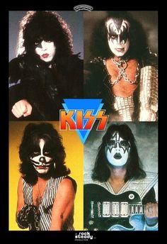 Japón dinastía Promo cartel pie pantalla - un beso kiss76 beso banda Kiss coleccionables recuerdos regalo Idea Retro cartel Pintrest