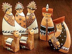 Nativity set made in Peru - photo from 16thletter