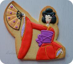 Dulcekoala Galletas Decoradas... y otros dulces...: GALLETAS DECORADAS CON AIRE ORIENTAL