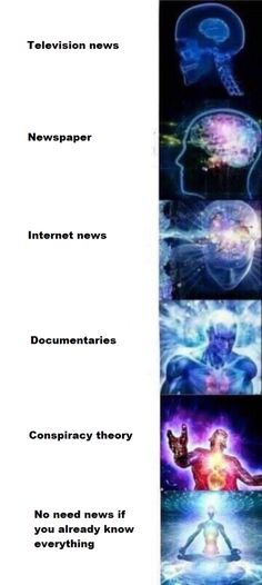 See more 'Galaxy Brain' images on Know Your Meme! Funny Jokes, Hilarious, Stupid Funny, Funny Stuff, Internet News, Know Your Meme, Conspiracy Theories, Brighten Your Day, Mind Blown