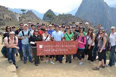 Daniels Professional MBA students in Peru