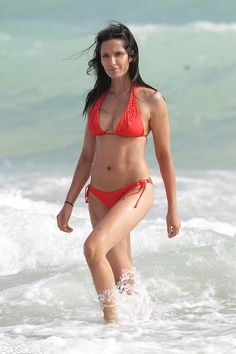 Padma Lakshmi hits the water