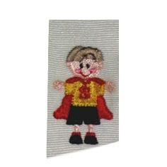 Tiny Superboy | Mini Designs | Machine Embroidery Designs | SWAKembroidery.com Band to Bow