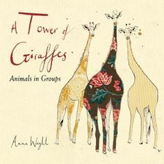 Randomly Reading: A Tower of Giraffes: Animals in Groups written and illustrated by Anna Wright