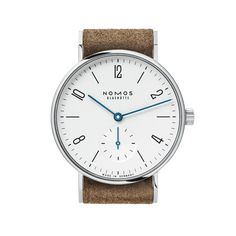Tangente 33 stainless steel back | Beautiful watches purchased online. Directly from NOMOS Glashutte/SA.
