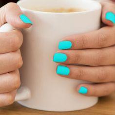 Cute Acrylic Nails, Acrylic Nail Designs, Nail Art Designs, Bright Summer Acrylic Nails, Bright Nail Designs, Neon Blue Nails, Summer Shellac Nails, Summer Nail Designs, Bright Colored Nails