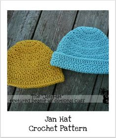 Free Crochet Pattern For Beanie With Bill : crochet hats on Pinterest Crochet Hats, Hat Patterns and ...
