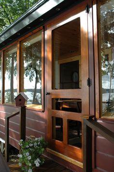 Traditional Screen & Storm Door | Mountain Laurel Model | www.VintageDoors.com