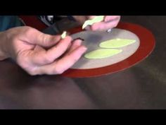 The Easiest way to wire gumpaste petals and leaves! You can use any brand or recipe of gumpaste. This method was developed by Lin Cook from England.