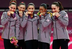 Team USA wins first team gold medal in gymnastics since 1996! so excited and proud of them
