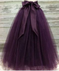 Puffy Dark Purple Long Tulle Skirts For Women With Riffon Sash Puffy Tutu Skirt Female Adult Saias Custom Made New Elastic Diy Robe Tulle, Diy Tulle Skirt, Robes Tutu, Dress Skirt, Long Tutu Skirt, Long Tulle Skirts, Adult Tulle Skirt, Tulle Tutu, Tutu Skirt Women Diy