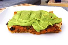 Enchiladas with Avocado Lime Cream Sauce. So excited to find this recipe, I almost always have most of the ingredients in my kitchen!