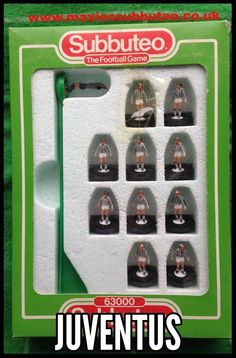 #subbuteo football team Juventus 1986 Light Weight Machine printed #subbuteo teams from the company when they had a catalgoue of about 700+ teams check out my website for a growing list of teams which make perfect gifts for the football fan http://www.max