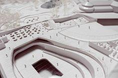 Architectural Model - Natural History Museum Proposal - Natural History Museum Proposal / Kengo Kuma & Associates + Erik Møller Arkitekter + JAJA Architects