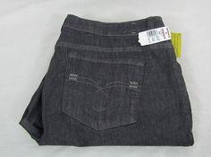 Lee Made 2 Fit Adjustable Waistband Jeans Women's Plus Size 18W Medium NEW #Lee #StraightLeg 26.99