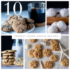 10 perfect vegan cookie recipes for any holiday or occasion! Vegan Peanut Butter Cookies, Vegan Chocolate Chip Cookies, Creamy Peanut Butter, Sliced Roast Beef, Sliced Turkey, Sand Dollar Cookies, Russian Tea Cookies, Vegan Turkey, Vegan Buttercream