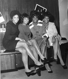 THE SWEET INSPIRATIONS', left to right: Cissy Drinkard Houston, Myrna Smith, Sylvia Shemwell and Estelle Brown. In 1969, Elvis decided to return to performing in public. His engagement at The International Hotel in Vegas that July would mark his first appearance in over eight years. He chose The Sweet Inspirations to sing with him. The Sweets provided his shows with some much needed Gospel-Soul, he appreciated that. They would sing behind him for the rest of his life.