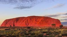 the big red monolith uluru Red Centre, Wilderness, Monument Valley, Ranges, Rainbow, Rain Bow, Rainbows, Range