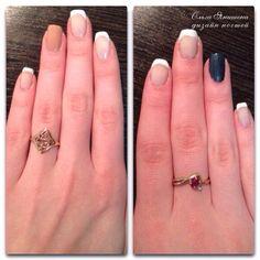 Французский маникюр #nail #nails #ногти #маникюр #рисунок #nailart #art #naildesign #design #nailstyle #style
