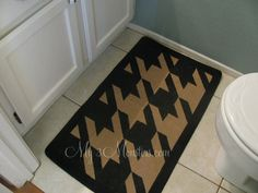 How to Paint a Houndstooth Pattern