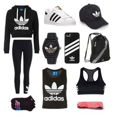 """""""Adidas! """" by sillylilli02 on Polyvore featuring Topshop, adidas and adidas Originals"""