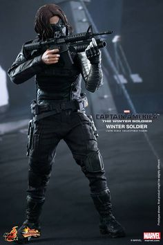 Hot Toys // The Winter Soldier — This figure is awesome. It's crazy how much it looks like Sebastian Stan, the same way Big Chief's BBC 'Sherlock' figures look like Benedict Cumberbatch and Martin Freeman. I've been wondering how they do that, achieve that degree of likeness. I wonder, do they take 3D digital scans of the actors' heads, import those into a 3D modeling program, and then 3D print casts that all the figure heads are made from? I feel like 3D printing has to be involved somehow.