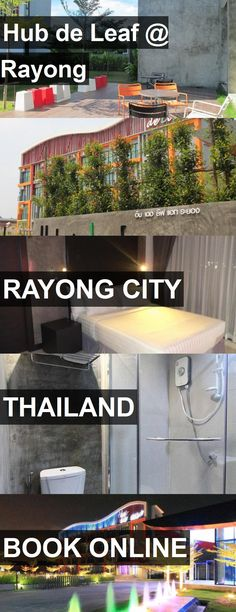 Hotel Hub de Leaf @ Rayong in Rayong City, Thailand. For more information, photos, reviews and best prices please follow the link. #Thailand #RayongCity #travel #vacation #hotel