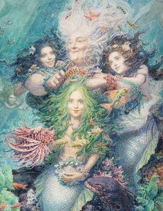 The Little Mermaid Illustration by Anton Lomaev | Flickr