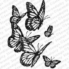 Check out the deal on Butterflies In Flight at Serendipity Stamps Butterfly Pictures, Serendipity, Bugs, Rooster, Butterflies, Craft Stamps, Stamping, Check, Crafts