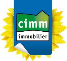 Le logo des Agences Immobiliere du réseau Cimm immobilier