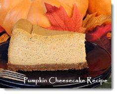 Velvety Pumpkin Cheesecake