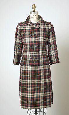 Cristóbal Balenciaga Wool Suit