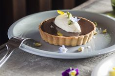 Salted caramel chocolate tarts – Recipes – Bite