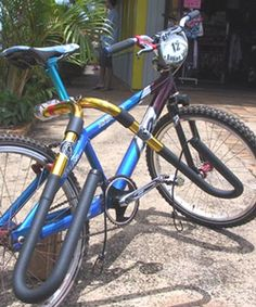 shortboard bike rack