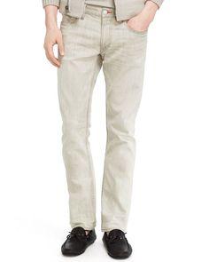 Ralph Lauren Black Label Jeans - Slim Fit in Aprilia Stone