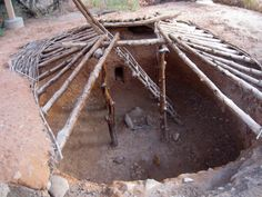 Pithouse in Anasazi Indian State Park | DyeClan.com