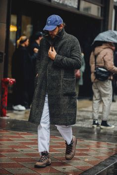 premium selection 13dd0 151a4 Street style Fashion Week homme automne hiver 2018 2019 New York 27