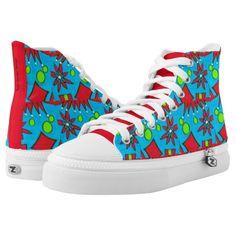 Sneakers Printed Shoes