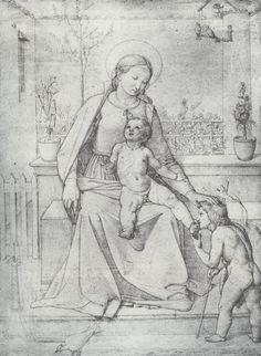 Overbeck, Johann Friedrich: Madonna im Rosenhag