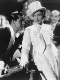 Marlene Dietrich and Cary Grant, Blonde Venus, 1932